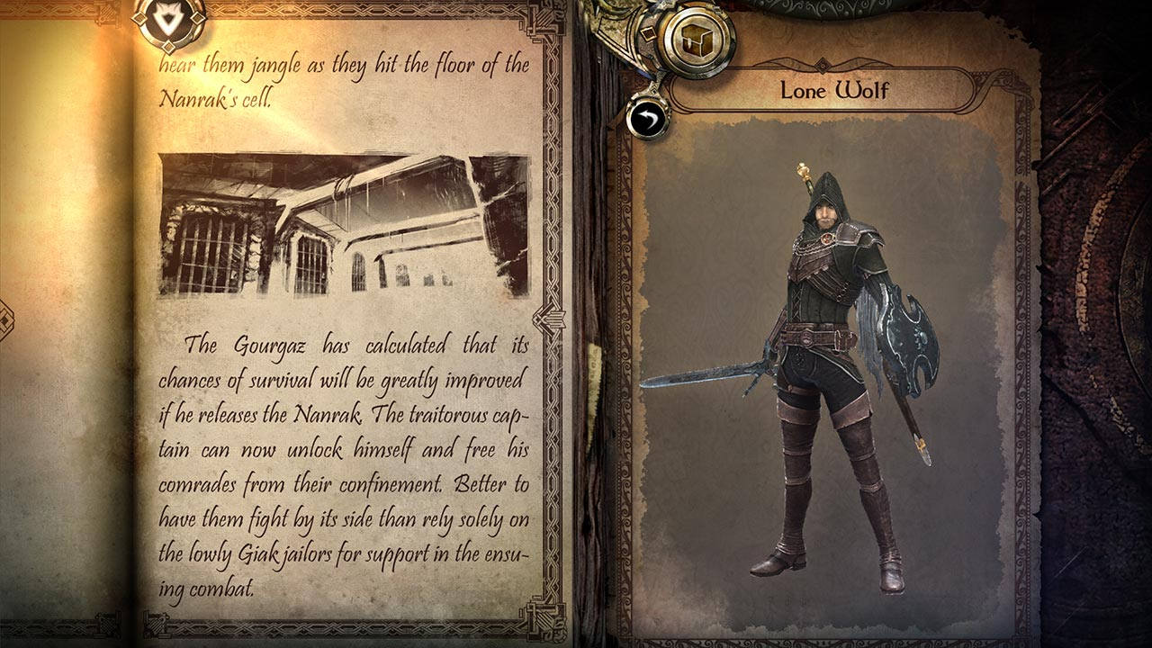 Joe Dever's Lone Wolf Console Edition скриншот 15