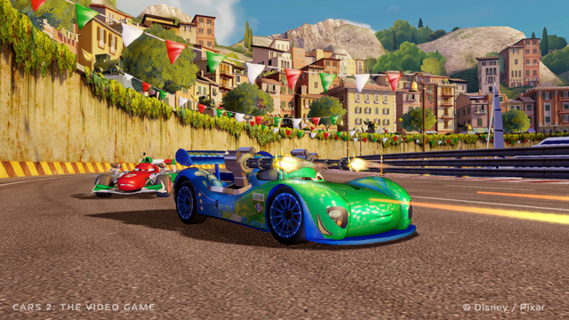 cars 2 the video game on ps3 official playstation store us. Black Bedroom Furniture Sets. Home Design Ideas