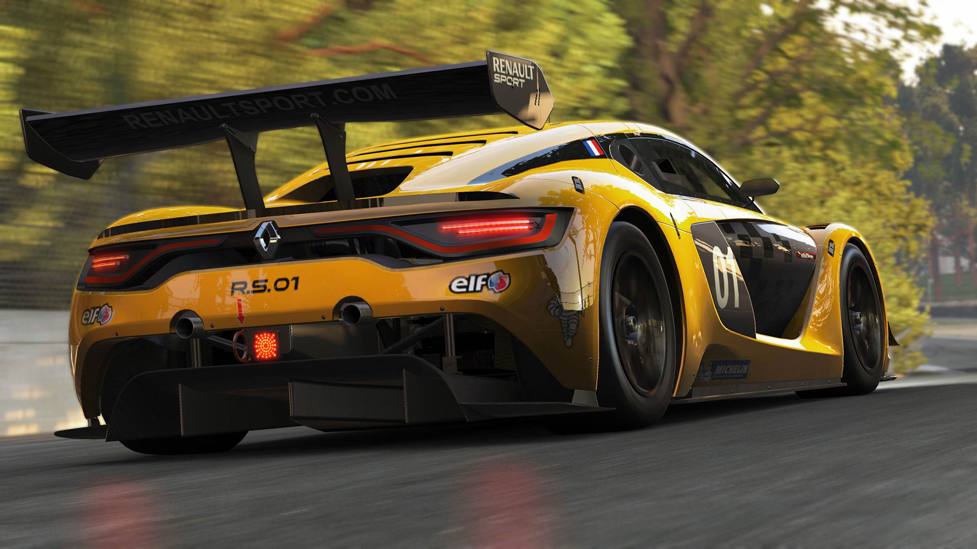 project cars renault sport car pack on ps4 official