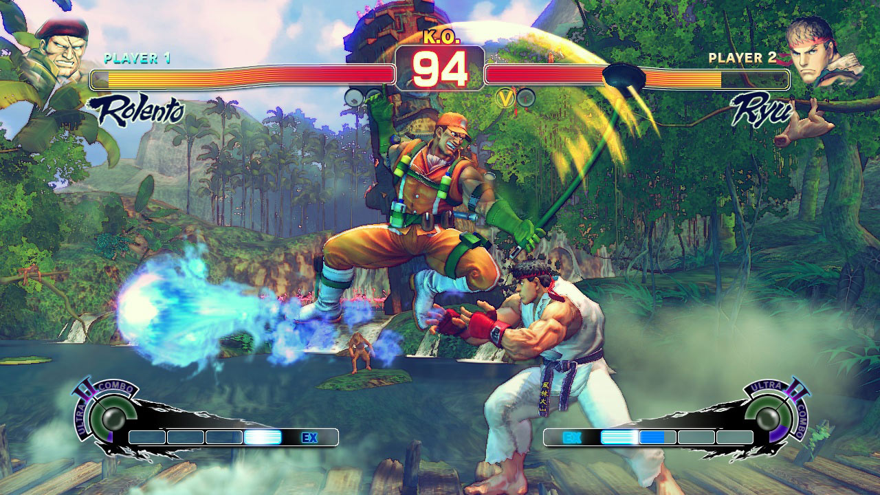 how to play ultra street fighter 4 on xbox one