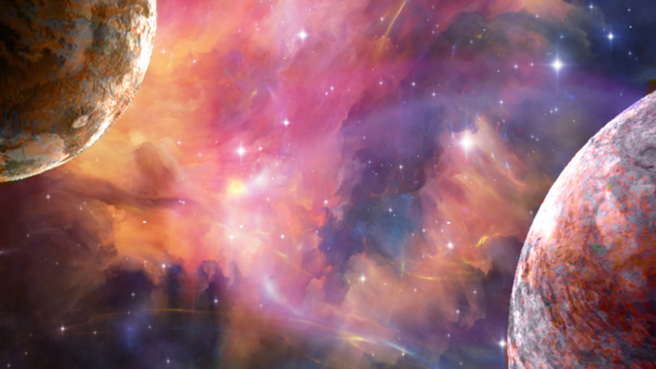 3d planets and 3d star nebula dynamic theme on ps4 for 3d star net