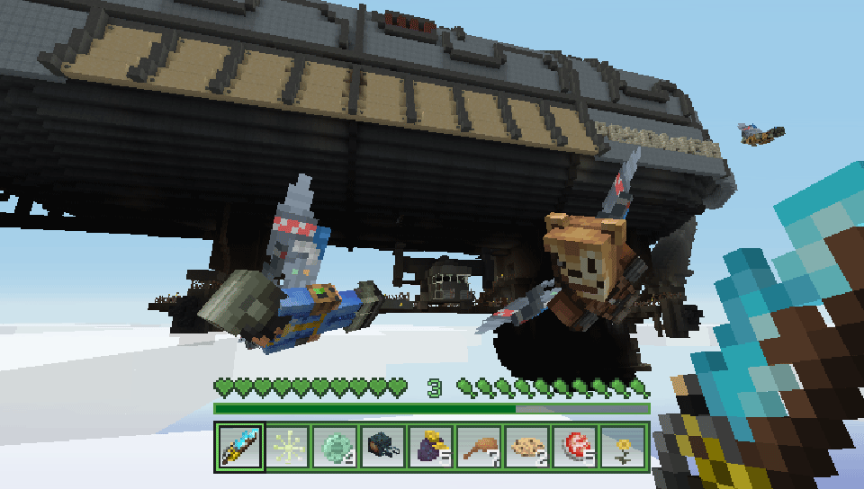 Minecraft Fallout Mash-Up Pack (English/Chinese/Korean/Japanese Ver )