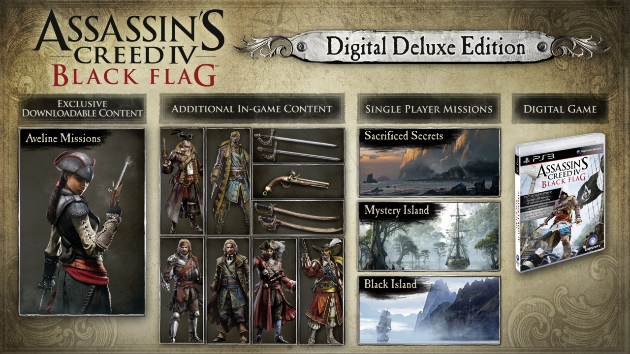Assassin's Creed IV Black Flag - Deluxe Edition скриншот 1