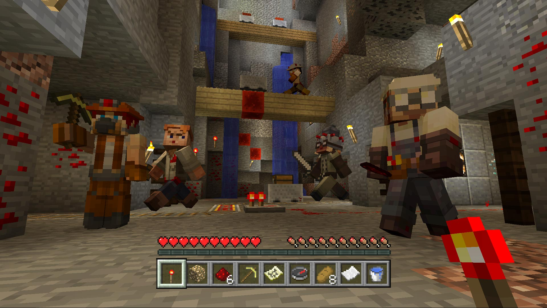 Minecraft Redstone Specialists Skin Pack On PS Official - Skins para minecraft online