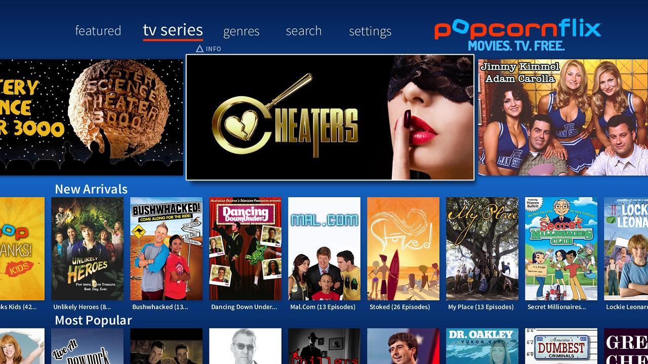 Watch tv series online free streaming app