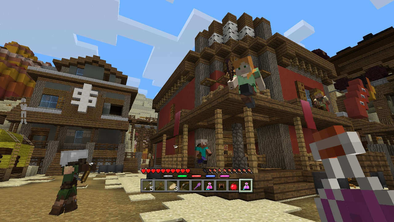 Minecraft Battle Map Pack On PS Official PlayStationStore - Minecraft ps3 us disc maps