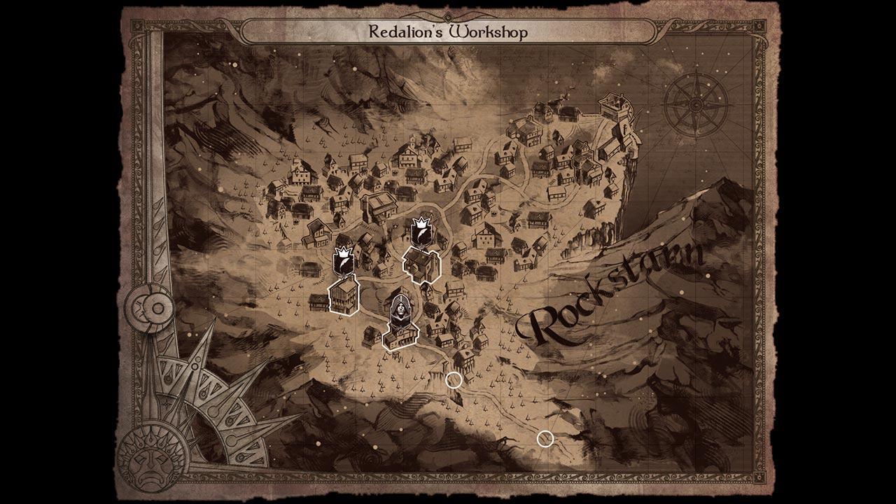 Joe Dever's Lone Wolf Console Edition скриншот 4