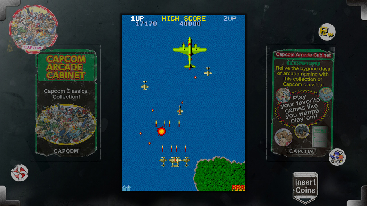 1942 Arcade Cabinet Capcom Arcade Cabinet 1942 On Ps3 Official Playstationrstore Us