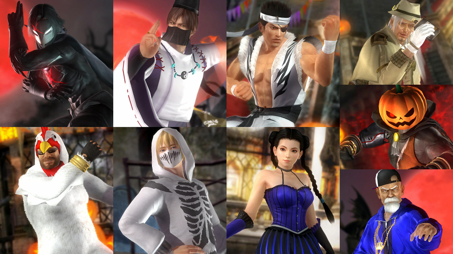 more for dead or alive 5 last round core fighters