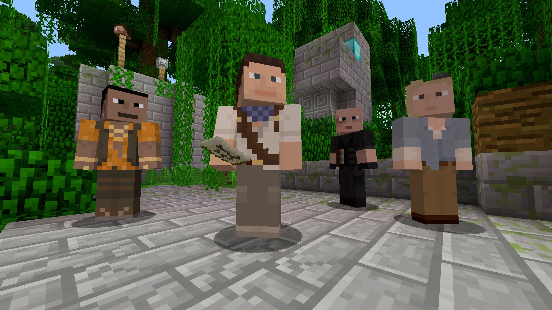 Minecraft Skin Pack On PS Official PlayStationStore US - Skins fur minecraft 1 8