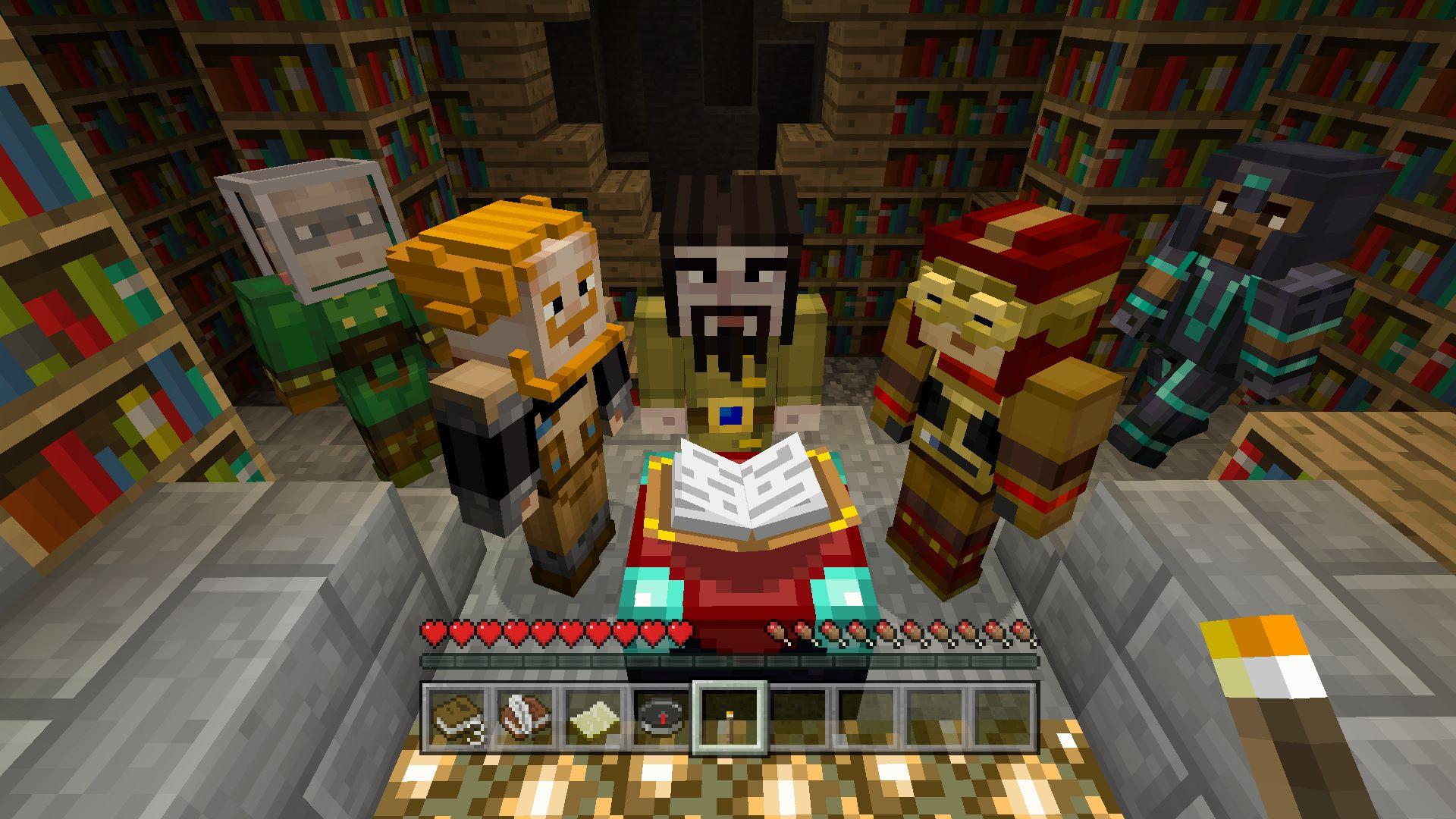 Minecraft Story Mode Skin Pack Englishchinesekoreanjapanese Ver