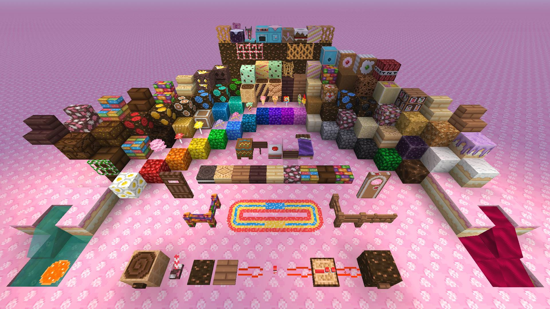minecraft candy texture pack on ps4 official playstation store us. Black Bedroom Furniture Sets. Home Design Ideas