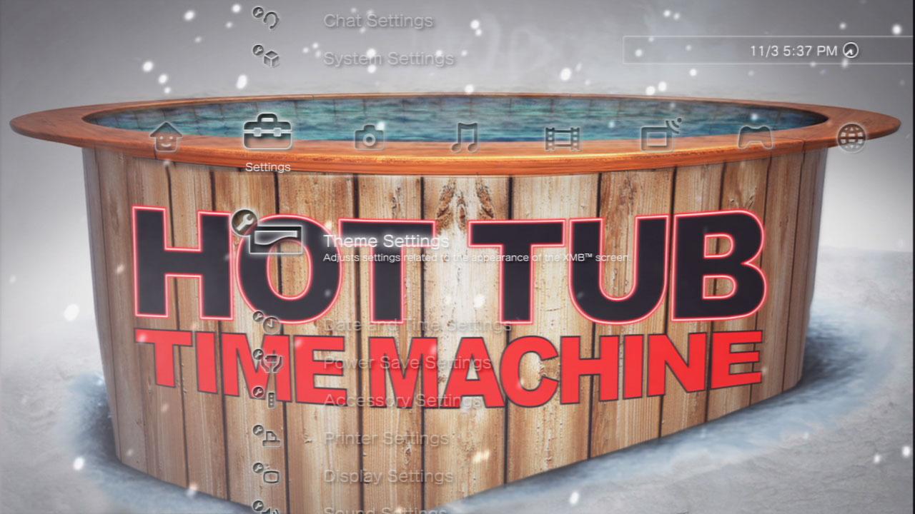 Тему к Hot Tub Time Machine Static скриншот 4