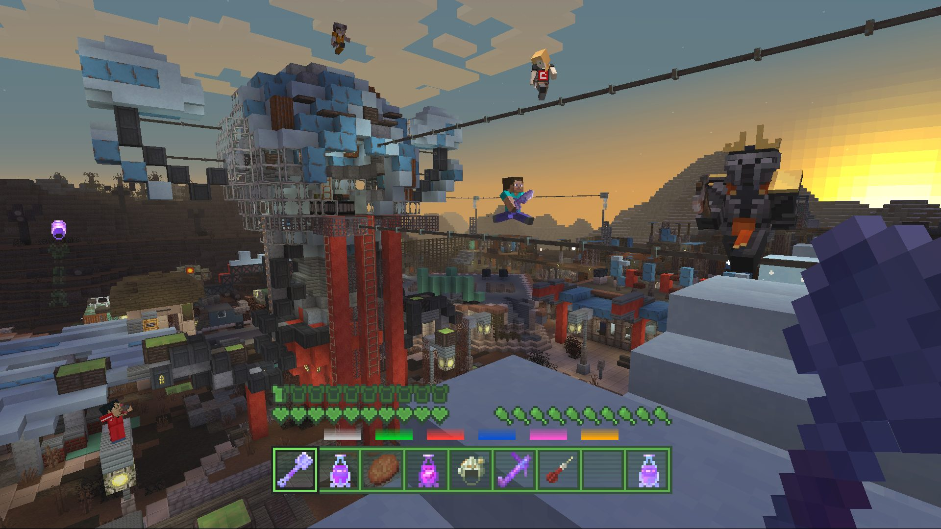 Minecraft fallout battle map pack on ps4 official playstation map released 07032017 gumiabroncs Images