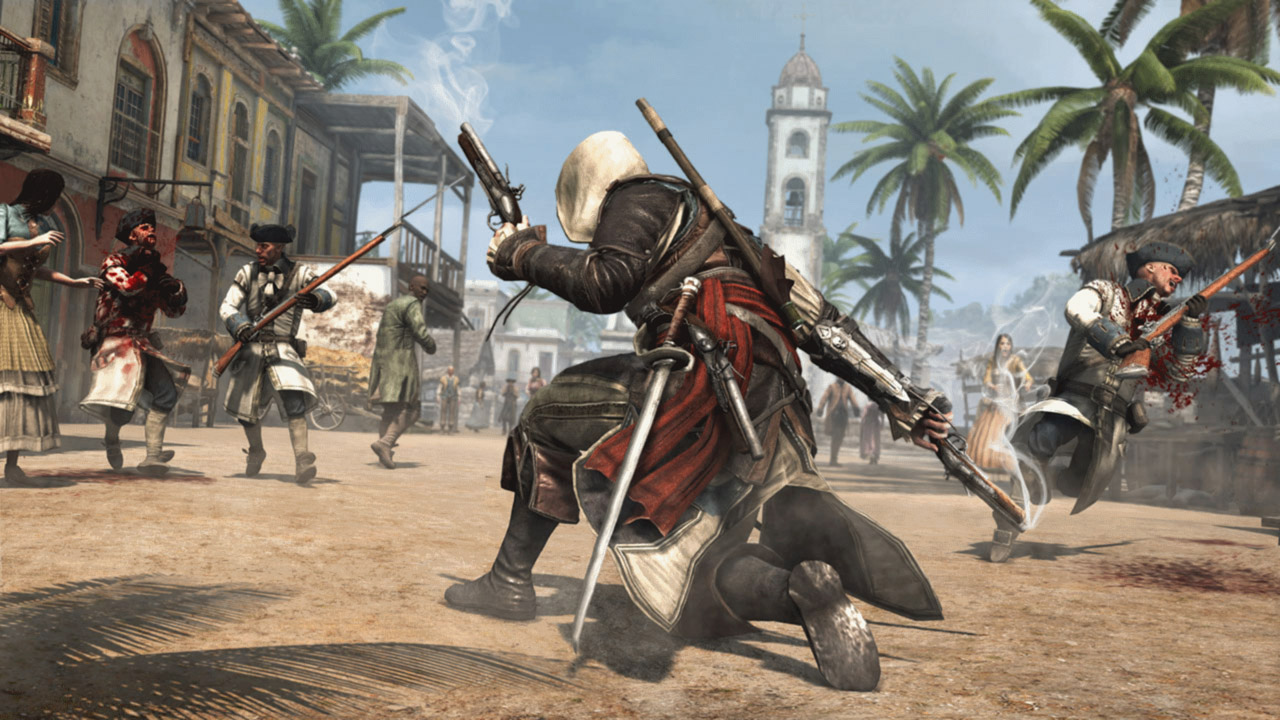 Assassin's Creed IV Black Flag - Standard Edition скриншот 4