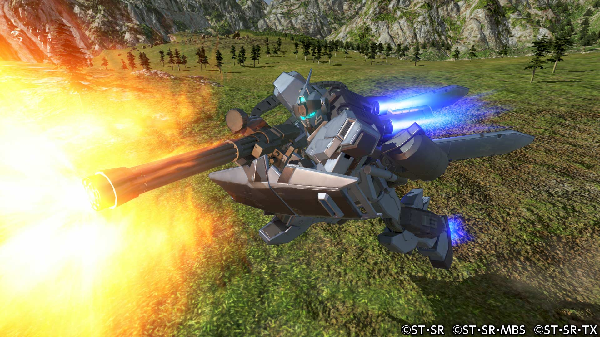 Additional Playable Mobile Suit: Pale Rider
