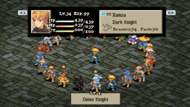 Final Fantasy Tactics 174 The War Of The Lions No Ps Vita