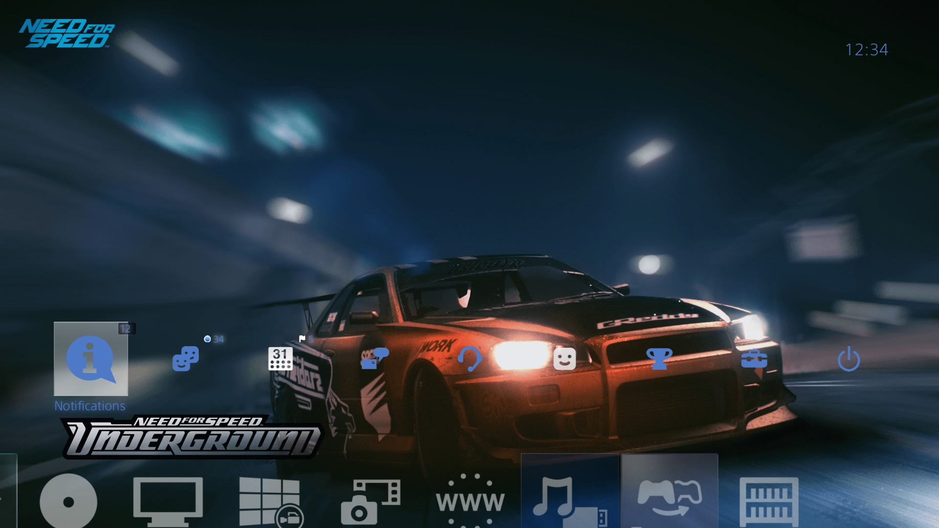 need for speed underground legends theme on ps4 official playstation store us. Black Bedroom Furniture Sets. Home Design Ideas