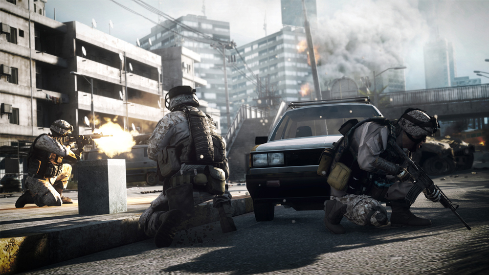 Banner do game Battlefield 4 para PS3