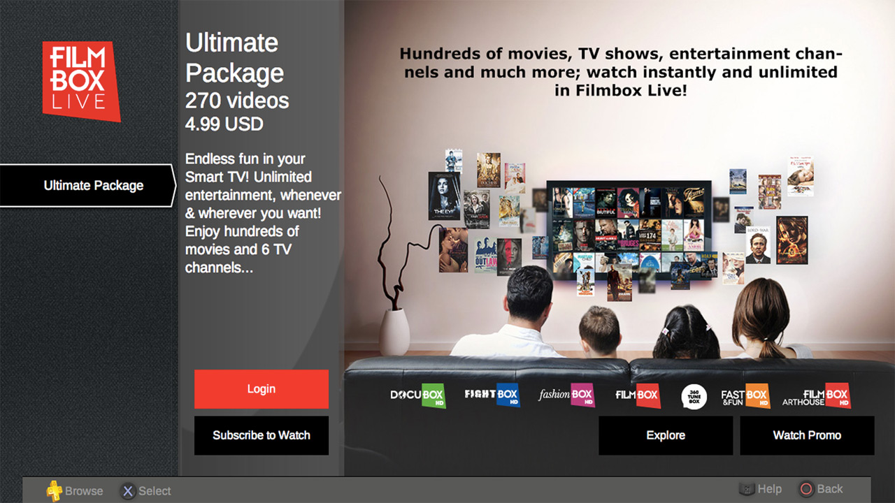 FILMBOX LIVE on PS3 | Official PlayStation™Store Romania