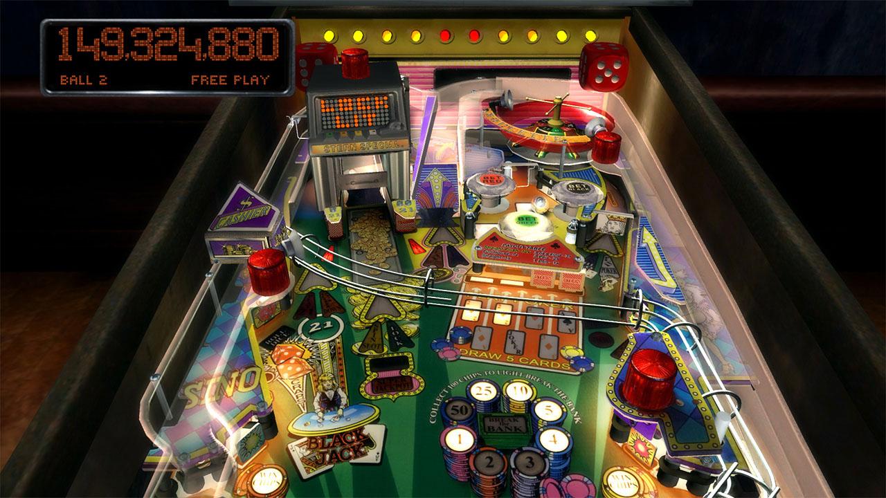 Pinball arcade mesa de pinball high roller casino en ps3 for Pinball de mesa
