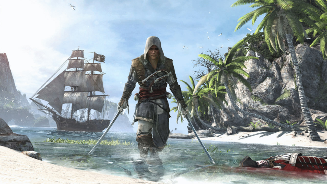 Assassin's Creed IV Black Flag - Standard Edition скриншот 1