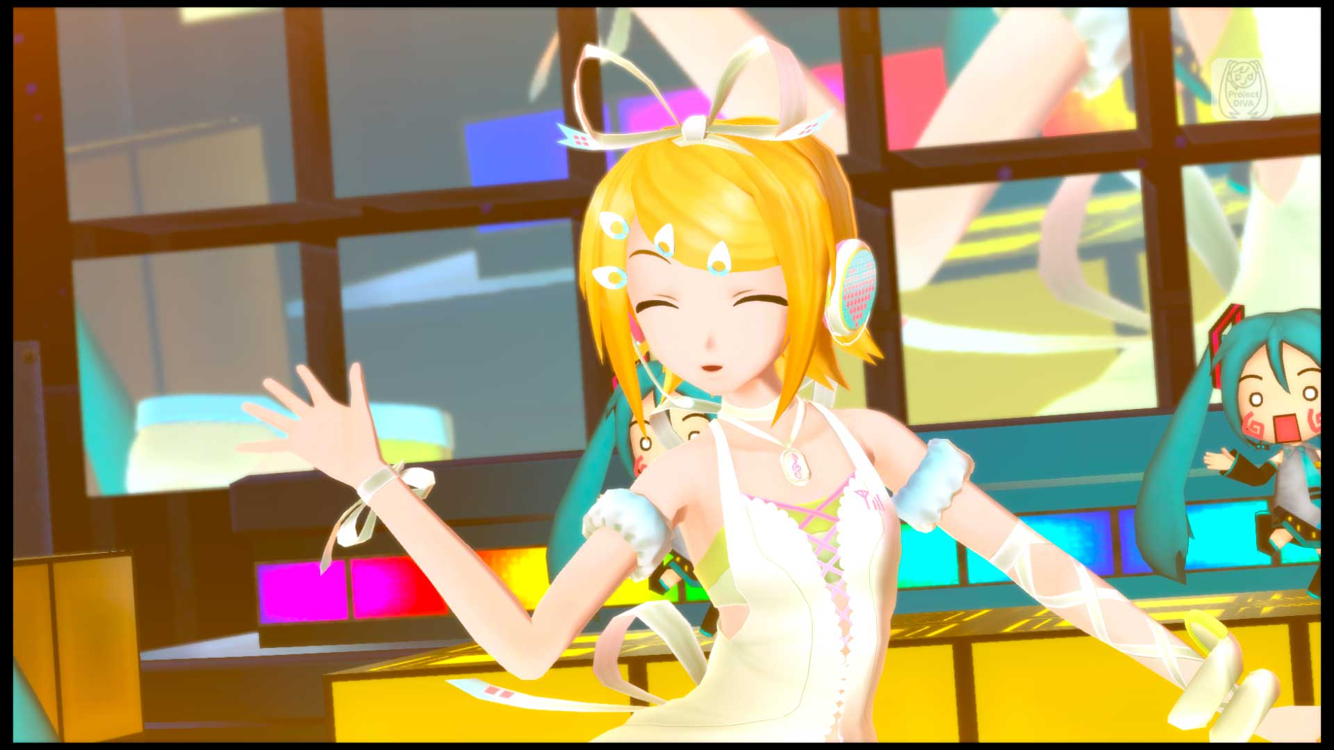 Hatsune miku project diva f 2nd kagamine rin cute module on ps3 official playstation store us - Kagamine rin project diva ...