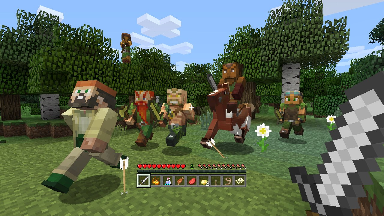 Minecraft Biome Settlers Skin Pack On PS Official PlayStation - Skins fur minecraft ps3