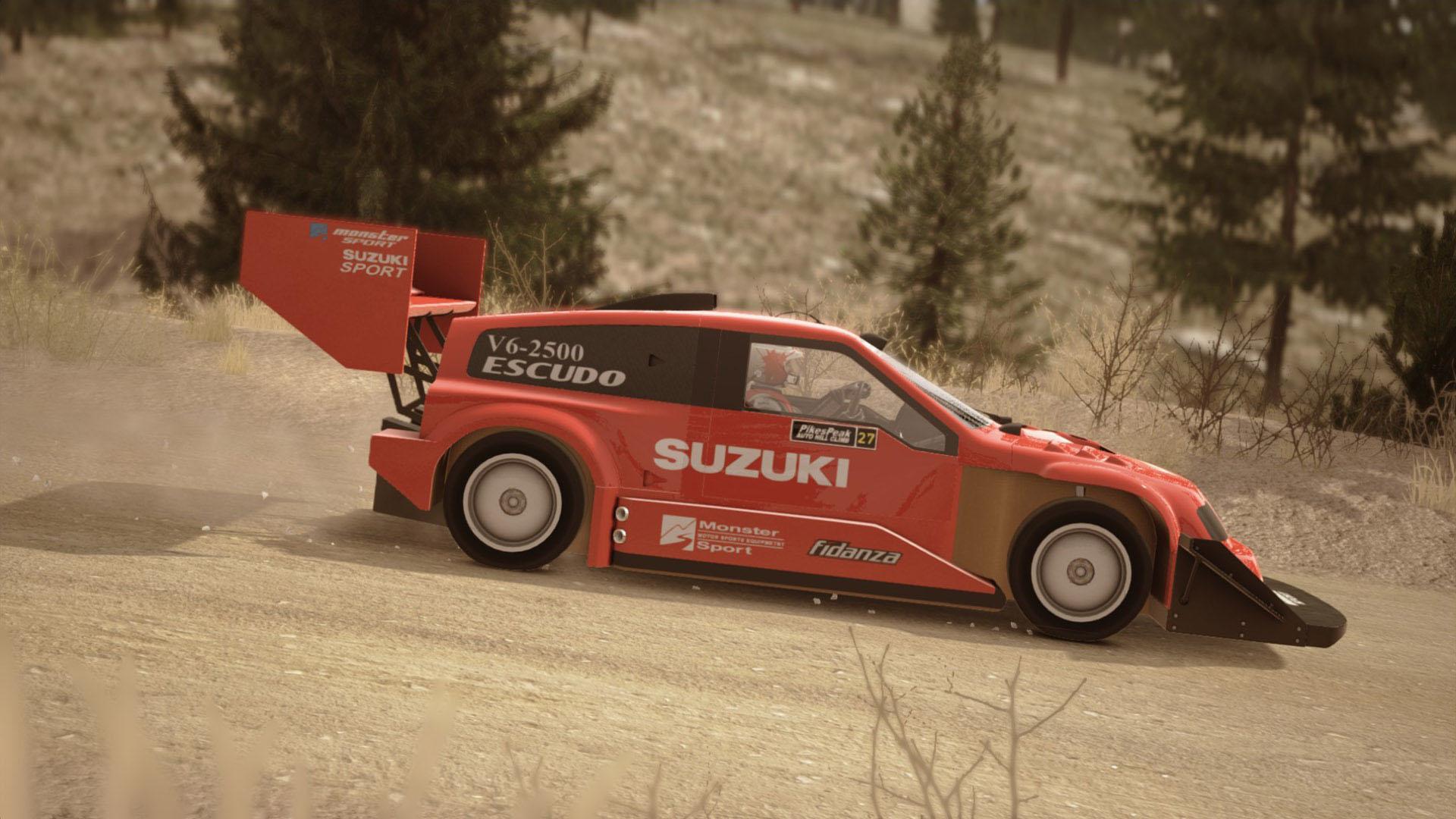 S 233 Bastien Loeb Rally Evo Pikes Peak Pack Suzuki Escudo