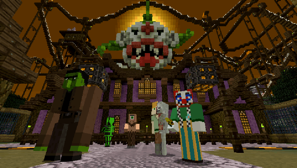 Minecraft: Halloween 2015 Mash-Up Pack on PS Vita | Official ...