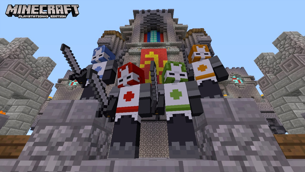 Minecraft Skin Pack On PS Official PlayStationStore Indonesia - Skins fur minecraft ps3