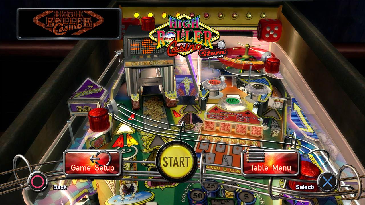 Pinball arcade mesa de pinball high roller casino pro en for Pinball de mesa